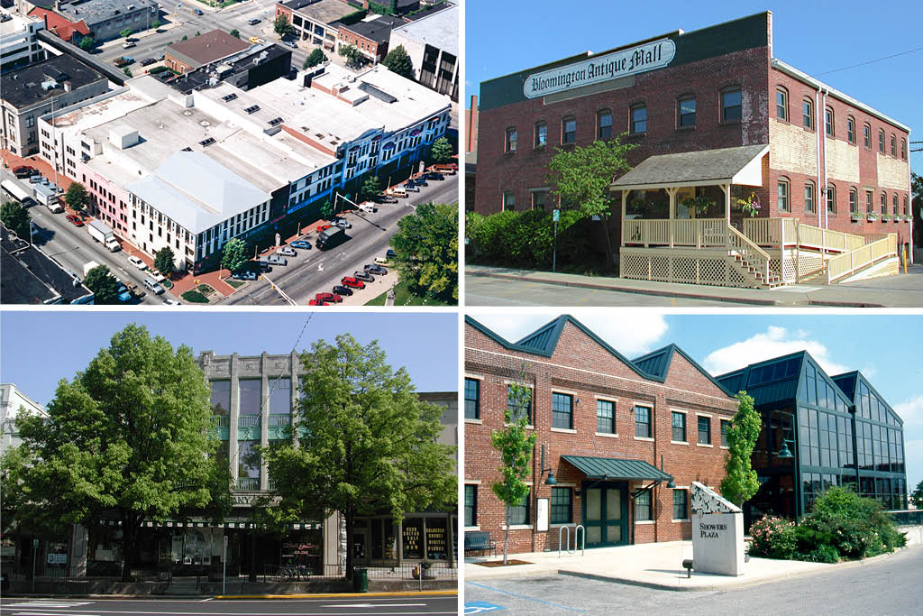 CFC Properties is responsible for renovating many historical buildings in downtown Bloomington, IN.