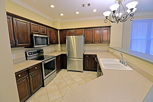 The Kirkwood, Imperial floor plan, offers a spacious kitchen.