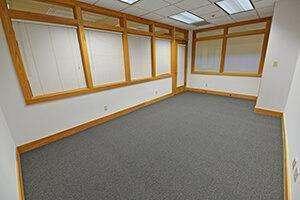Showers, Suite 112, provides a large reception area.