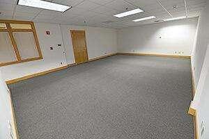 Showers, Suite 112, provides a spacious open floor plan.