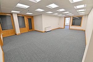 Spacious office suite inside Fountain Square.