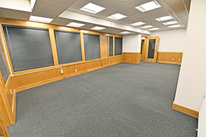 Fountain Square, Suite 232, second view of this spacious private office.